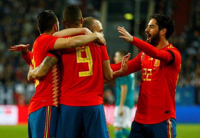 Selección España de fútbol