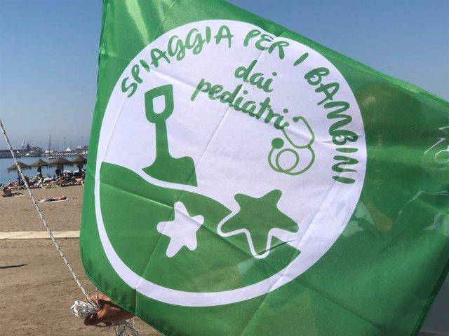 Bandera verde pediátrica