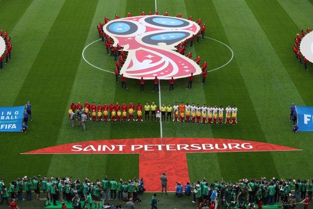 Soccer Football - World Cup - Group B - Morocco vs Iran - Saint Petersburg Stadi