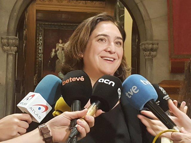 La alcaldesa de Barcelona, Ada Colau, en una imagen de archivo