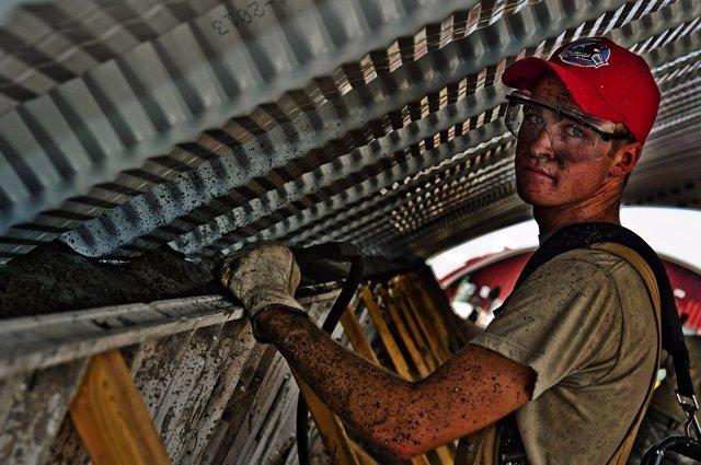 Trabajador en la construcción