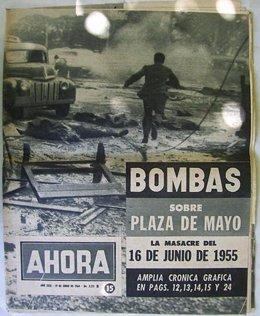 Bombardeo plaza de mayo argentina