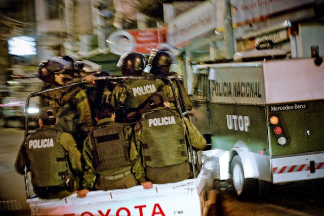 policía bolivia