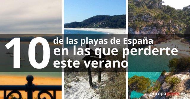 10 Playas De España En Las Que Perderte Este Verano