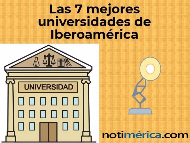 Las 7 mejores universidades de Iberoamérica