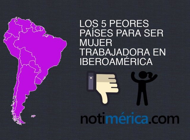 Ser mujer trabajadora en Iberoamérica