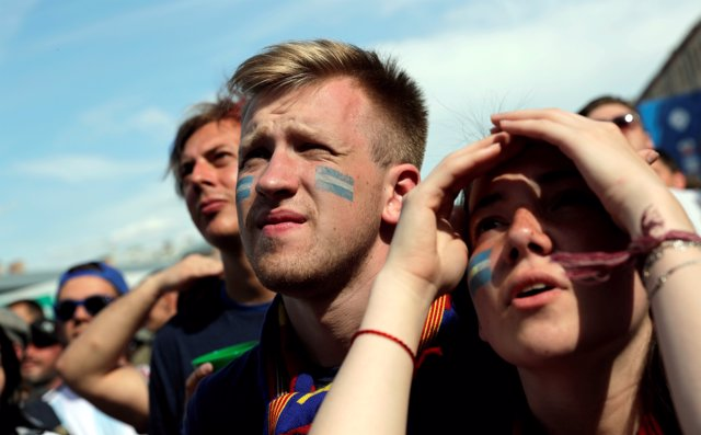 Soccer Football - World Cup - Group D - Argentina vs Iceland - Saint Petersburg,