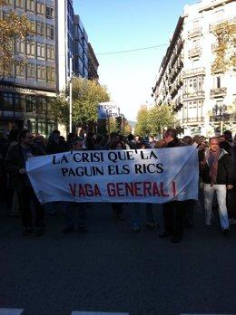 Manifestación De Funcionarios De Prisiones Por Los Recortes