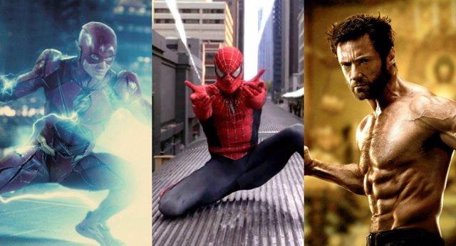 10 Momentos De Superhéroes