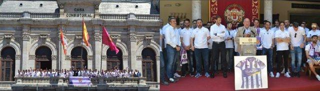 Valladolid.- Recibimiento al Real Valladolid