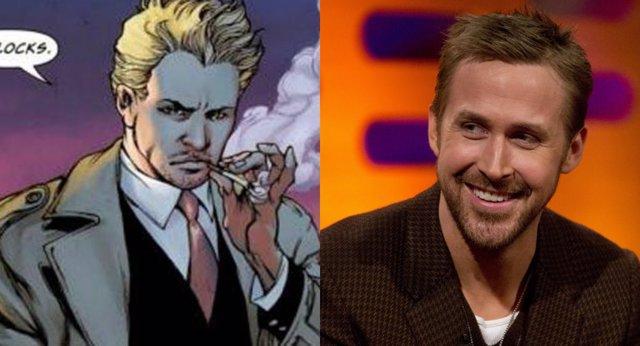Ryan Gosling luciría como John Constantine