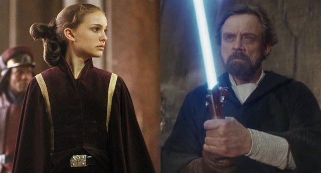 Padme y Luke