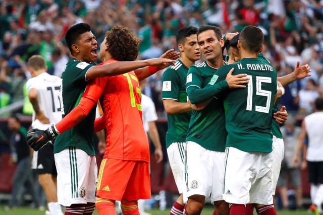Soccer Football - World Cup - Group F - Germany vs Mexico - Luzhniki Stadium, Mo