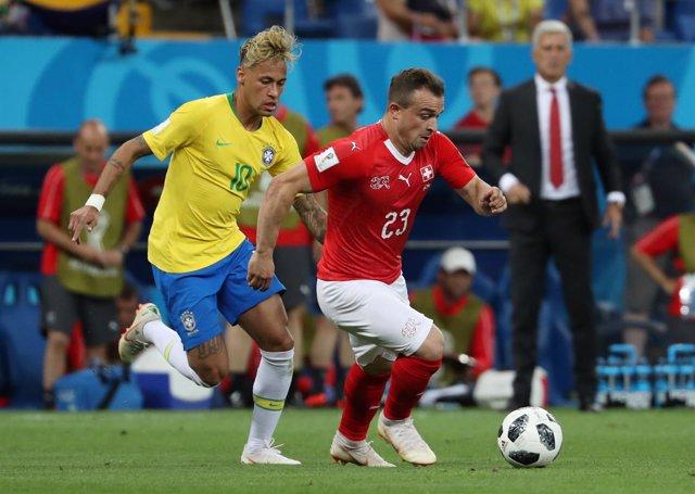 Soccer Football - World Cup - Group E - Brazil vs Switzerland - Rostov Arena, Ro