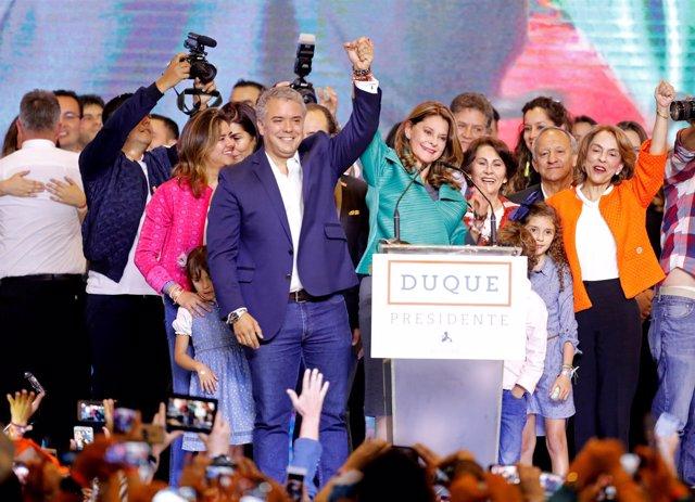 El ganador de las elecciones colombianas, Iván Duque