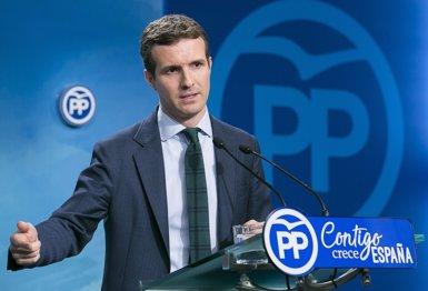 Casado presentarà la seva candidatura al congrés del PP que elegirà el successor de Rajoy (EUROPA PRESS - Archivo)