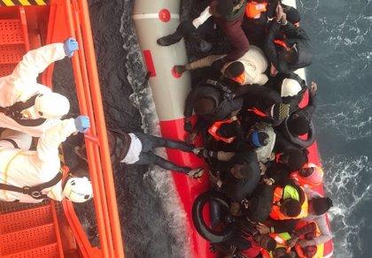 1.290 migrantes rescatados este fin de semana cerca de las costas españolas