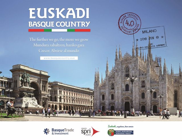 Viaje Gobierno Vasco a Milán