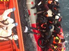 1.290 migrants rescatats aquest cap de setmana prop de les costes espanyoles (SALVAMENTO MARÍTIMO)