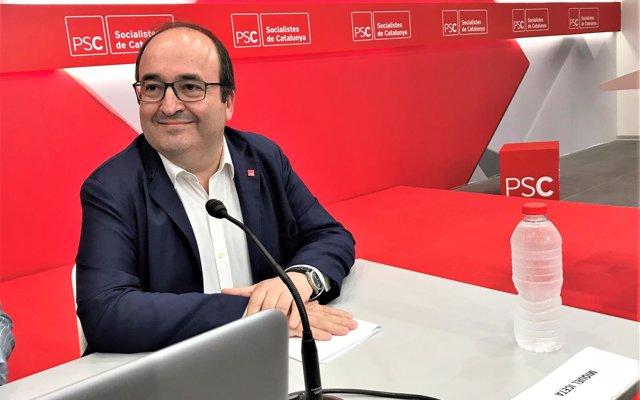 Iceta (PSC) ve 'un gravísimo error' que Girona no acoja los Premios Princesa de Girona