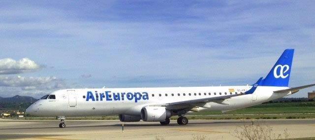 Avión Embraer de Air Europa