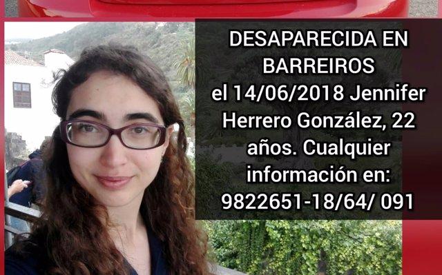 La investigación apunta a una 'desaparición voluntaria' en el caso de la joven de Barreiros (Lugo)