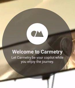 Captura de pantalla de la aplicación desarrollada en la UMH