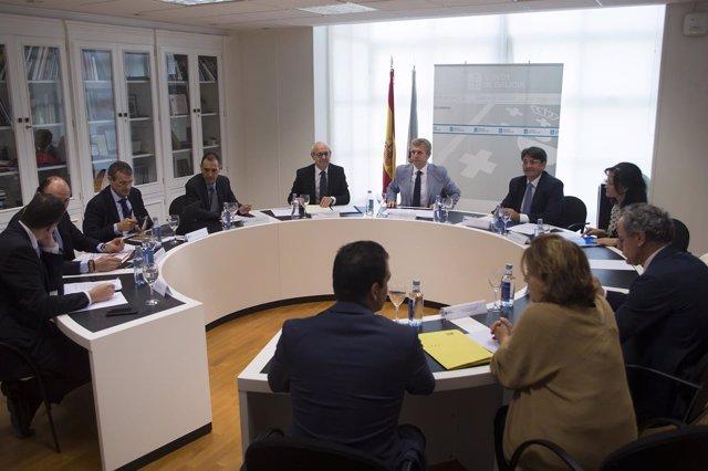 Reunión de Xunta e Fiscalía en Santiago de Compostela