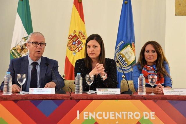 Belizón, Cavada y Gema Pérez en unas jornadas en San Fernando