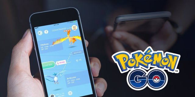Intercambios de Pokémon GO