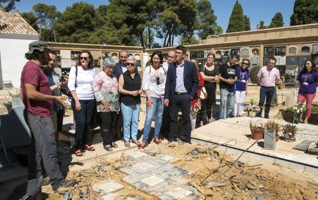 Comencen els treballs d'exhumació en la fossa 94 de Paterna
