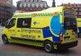 Herido un ciclista de 44 años atropellado por un turismo en La Mudarra (Valladolid)