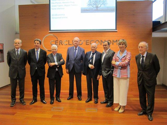 X.Cambra, E.Planes, J.Tàpies, J.Brugera, M.Puig, R.Grífols, N.Vilanova, M.Torres
