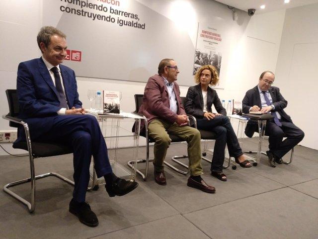 Zapatero, Batet e Iceta