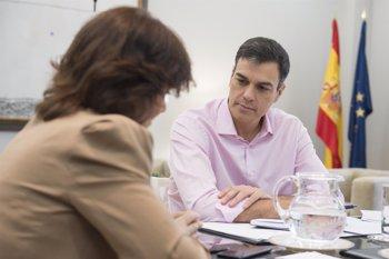Foto: Pedro Sánchez espera reunirse con Torra a primeros de julio y ve razonable acercar a Cataluña a los presos del 'procés'