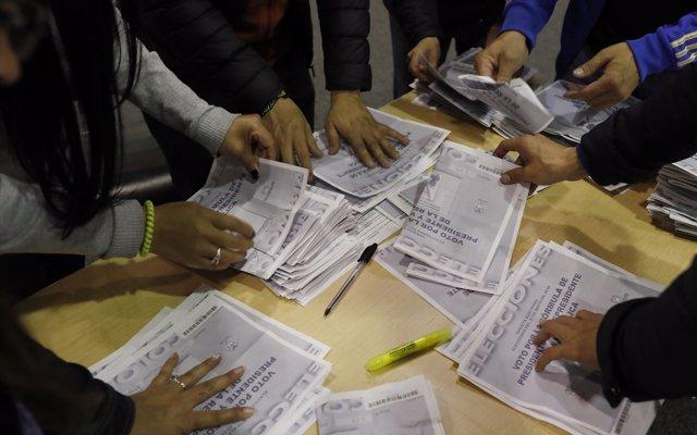 Colombia.- La OEA destaca el 'éxito' de la segunda vuelta electoral en Colombia