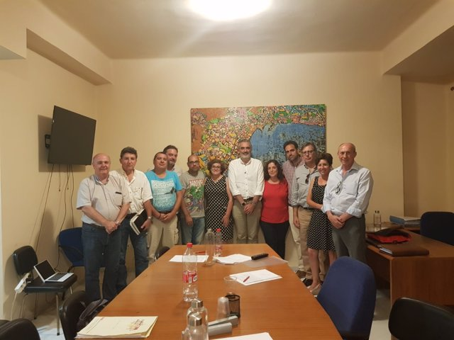 Firma del preacuerdo del convenio de hostelería de Málaga