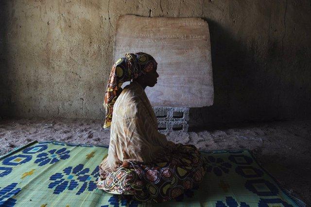Superviviente de la violencia de Boko Haram