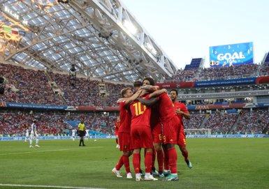 Bèlgica compleix i exhibeix el seu potencial davant Panamà (REUTERS / MARCOS BRINDICCI)
