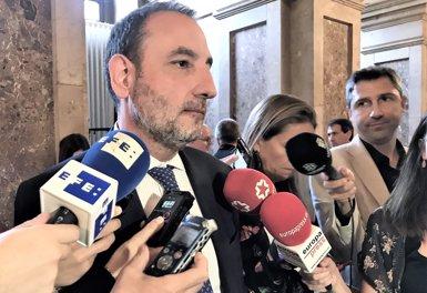 """Espadaler (Units) demana a Torra i Sánchez abordar el finançament com """"el més urgent"""" (EUROPA PRESS)"""