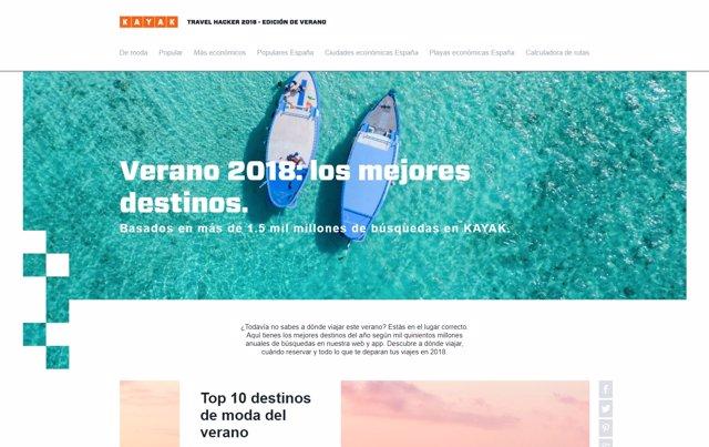 Guía online de KAYAK: Travel Hacker 2018 - Edición de verano