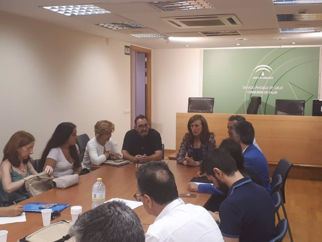 Reunión del grupo de trabajo sobre rehabilitación y fisioterapia