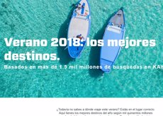 KAYAK llança a Espanya l'edició d'estiu de la seva guia interactiva Travel Hacker 2018 (KAYAK)