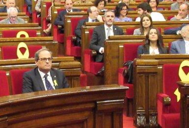Inés Arrimadas va telefonar a Quim Torra després de rebutjar reunir-se amb el president (Europa Press)