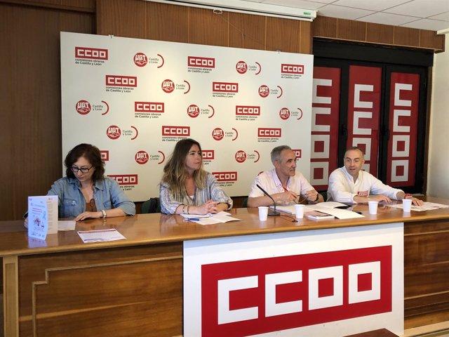 CCOO y UGT anuncian sus movilizaciones, 19-6-18