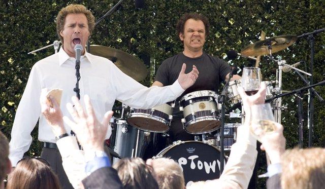 Will Ferrell y John C. Reilly en Hermanos por pelota