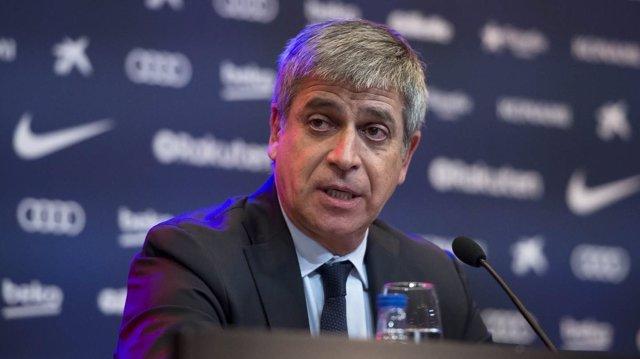 El vicepresidente deportivo del FC Barcelona, Jordi Mestre