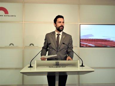 La Mesa del Parlament eleva al ple crear la comissió de drets que proposa Torrent (Europa Press)