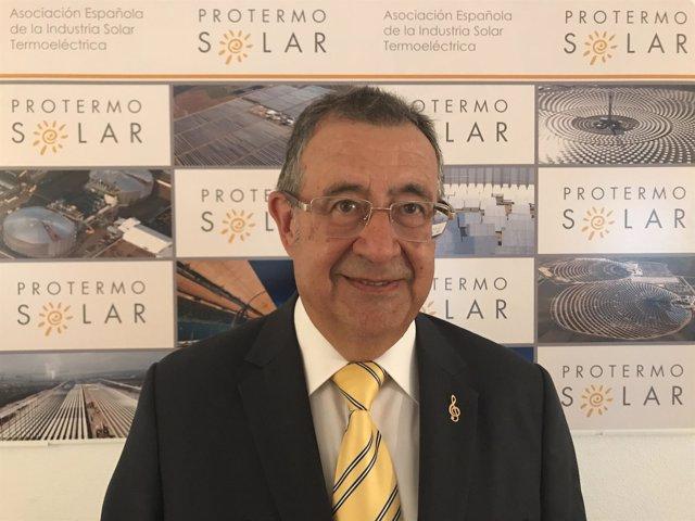 Luis Crespo, presidente de Protermosolar