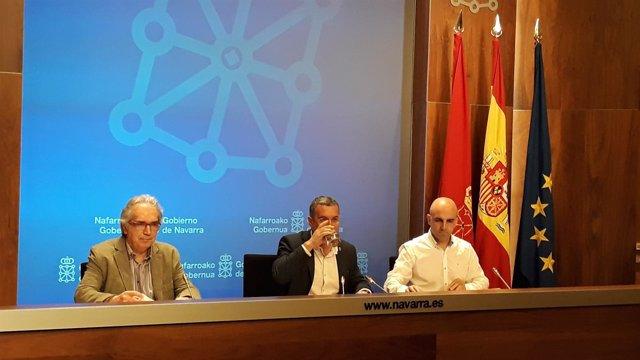 Presentación del informe sobre el empleo en Navarra